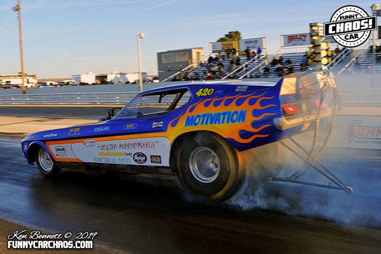 PENWELL KNIGHTS RACEWAY - THE ONE..THE ONLY...FUNNY CAR CHAOS!