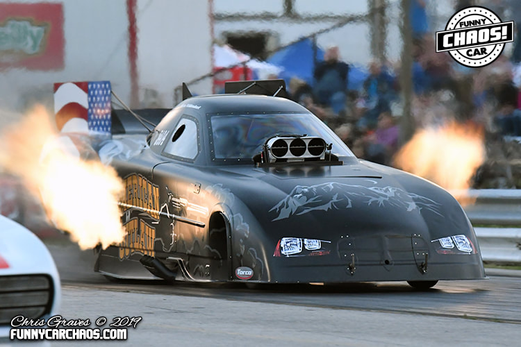 CENTRAL ILLINOIS DRAGWAY - THE ONE  THE ONLY   FUNNY CAR CHAOS!