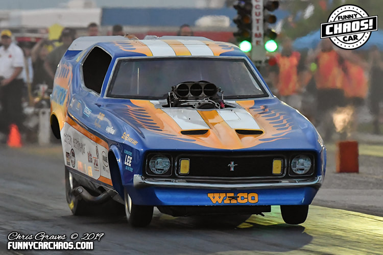2019 MOKAN DRAGWAY - THE ONE  THE ONLY   FUNNY CAR CHAOS!