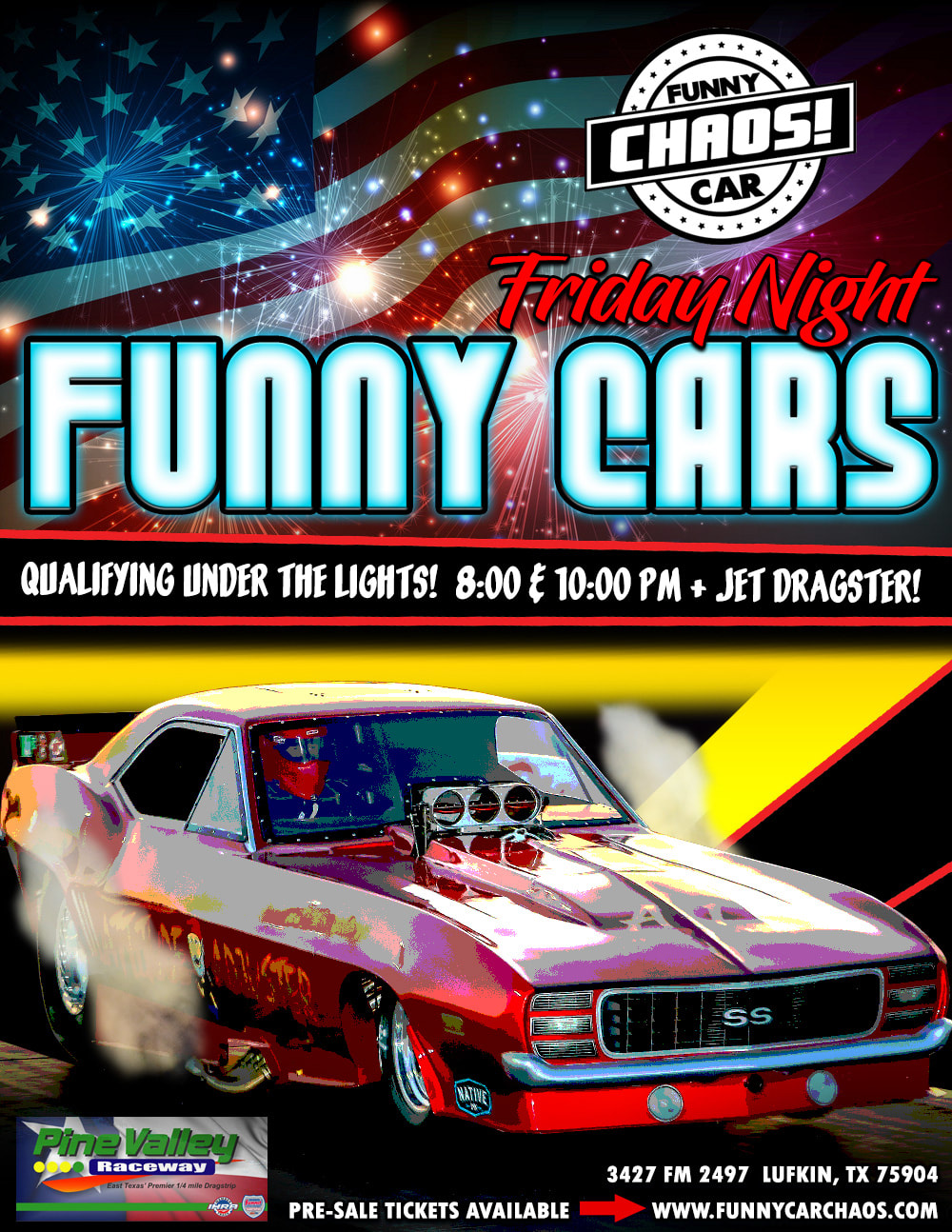 Pine Valley Raceway The One The Only Funny Car Chaos
