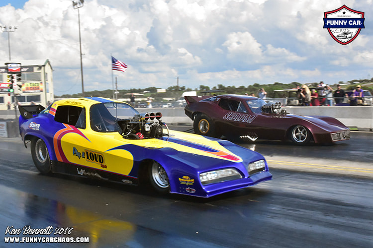 PINE VALLEY RACEWAY - THE ONE  THE ONLY   FUNNY CAR CHAOS!