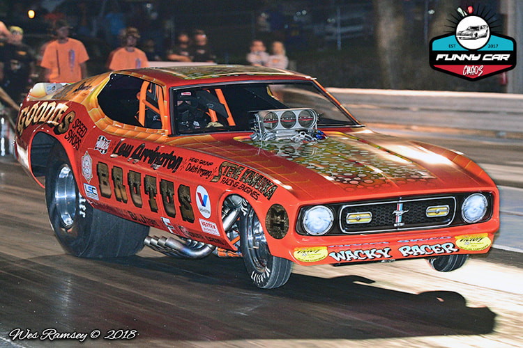 MOKAN DRAGWAY - THE ONE  THE ONLY   FUNNY CAR CHAOS!